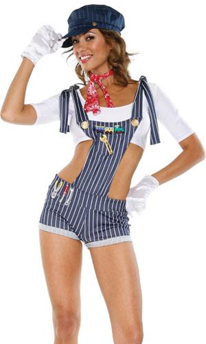 costumes Sexy train condutor