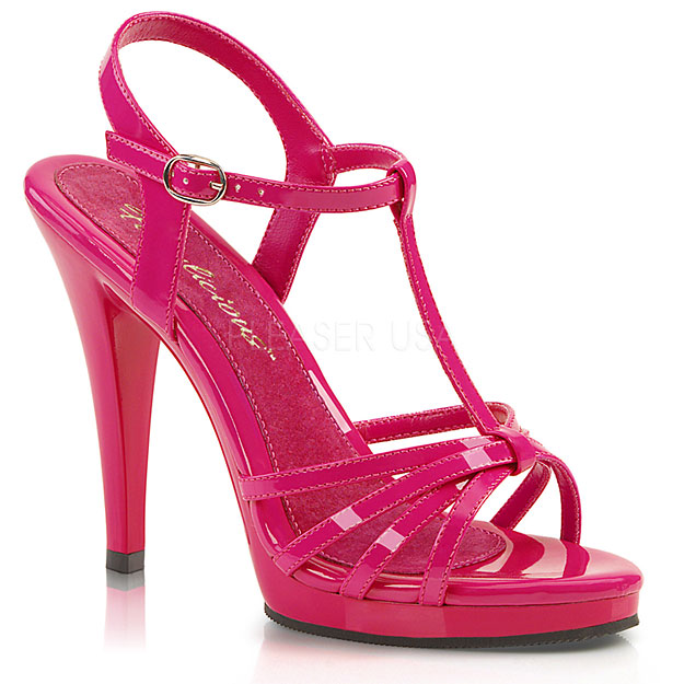 CLEARLY 420 Fabulicious Pleaser USA High Heels Abendschuhe Pumps