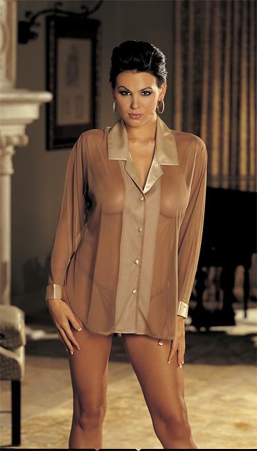 Девушки В Прозрачных Блузках